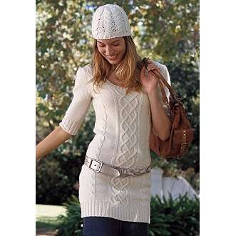 A Knit Sweater Dress