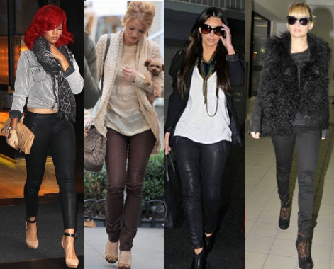 Leather Legging or Coated Jeans