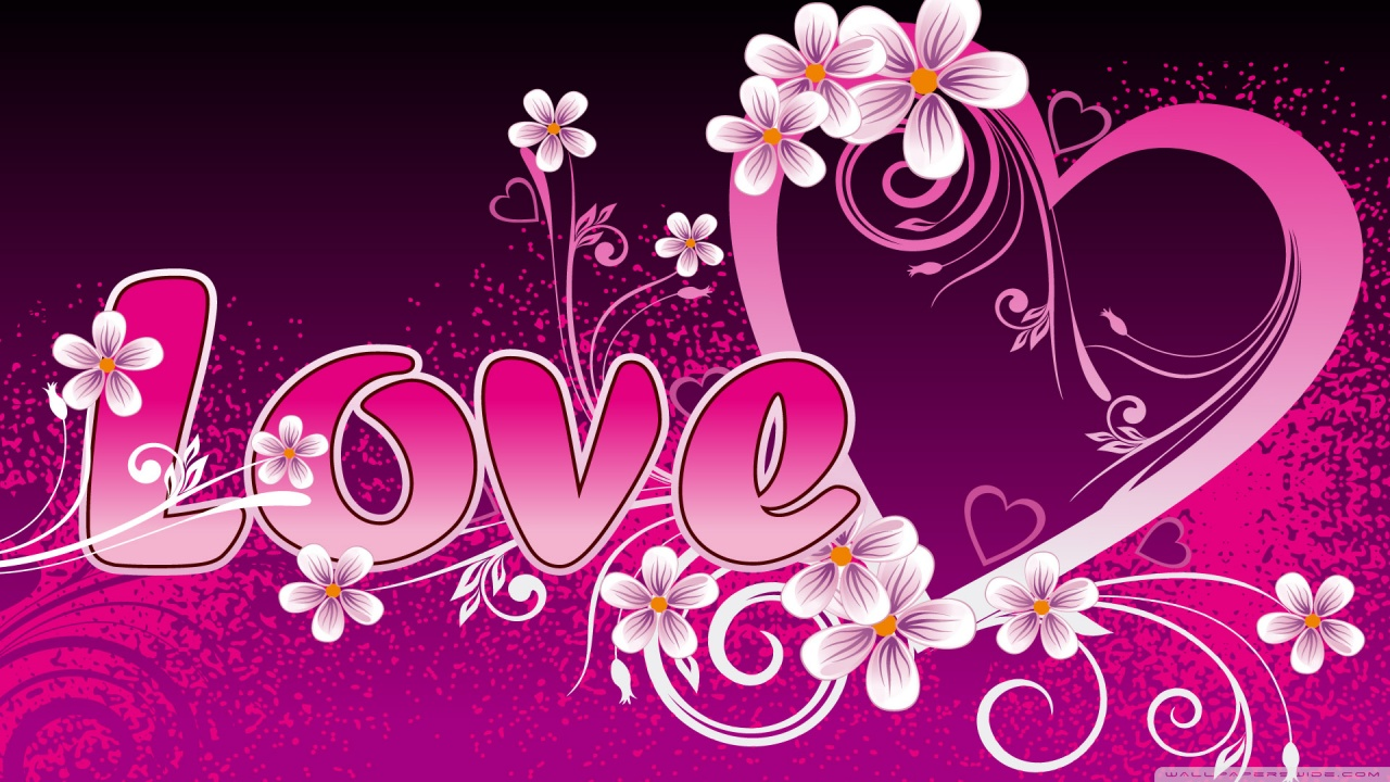 Pink Love Wallpaper: Most Attractive Breathtaking Love Wallpapers To Inspire