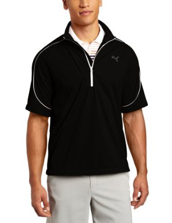 Puma Golf NA Men's Knit Wind Short Sleeve Jacket