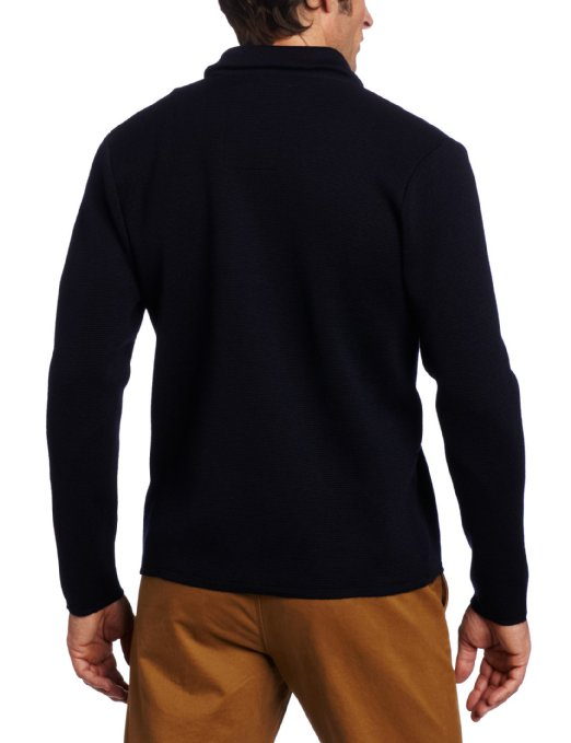 Benson Men's Double Knit Full Zip Sweater
