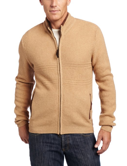 Pendleton Men's Weekender Zip Front Cardigan Sweater