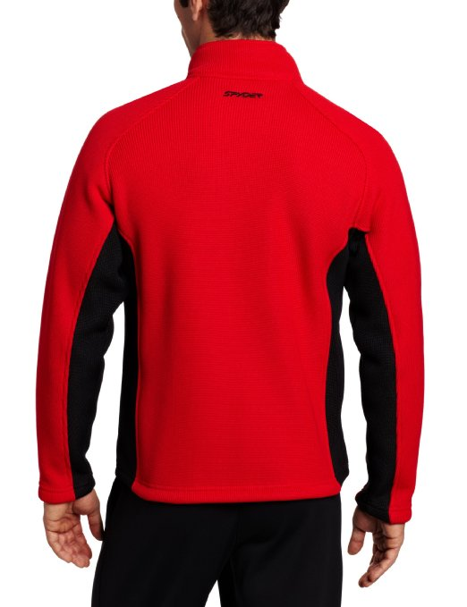 Spyder Men's Foremost Full Zip Heavy Weight Core Jacket