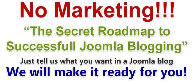 Joomla Blogging Solutions