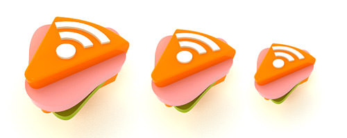 Free RSS Feed Icons Sets