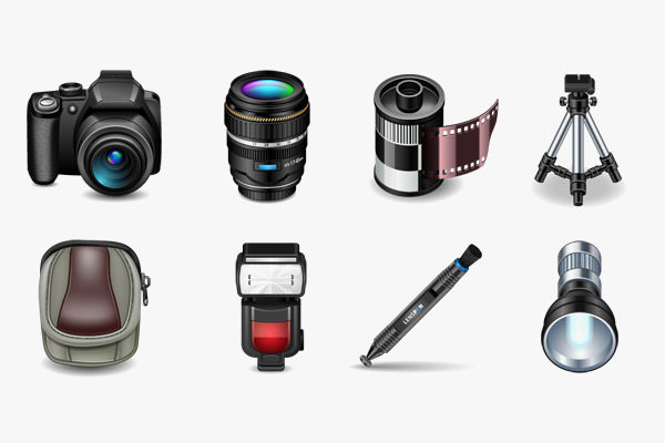 Free Set of Photography Icons