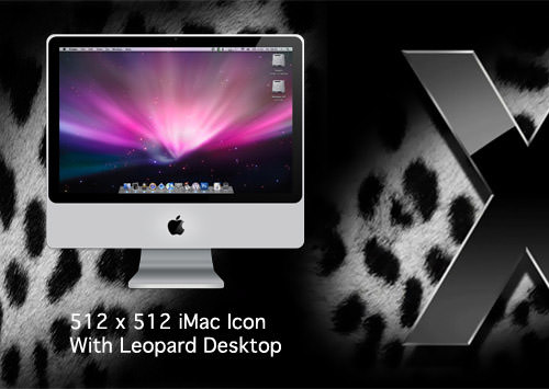 Leopard iMac Icon by MITCHFIELDER