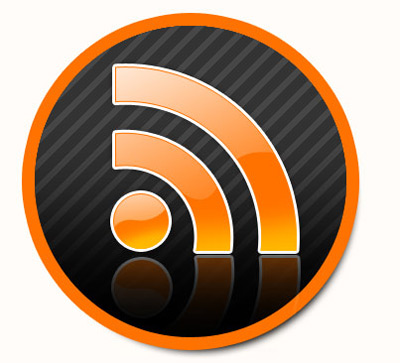 Web 2.0 RSS Icon With Psd
