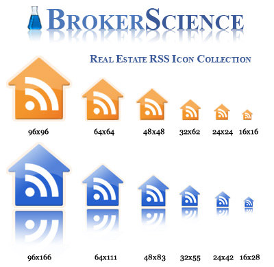 BrokerScience Real Estate RSS Icons