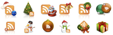 Chirstmas RSS Icons