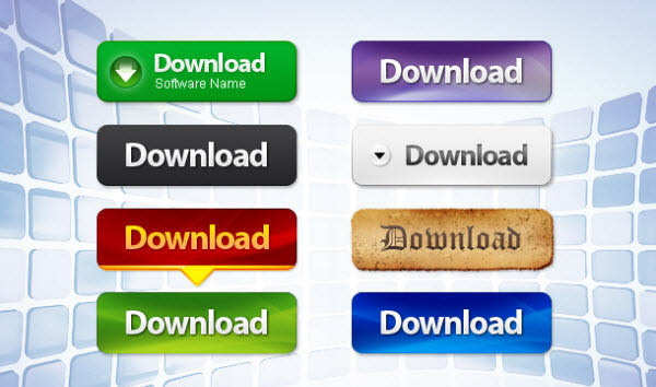 download web button set