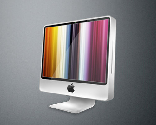 iMac icon by IconsClub