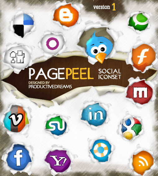 Pagepeel Icon Set 1