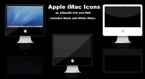 Apple iMac Icons by skate3214