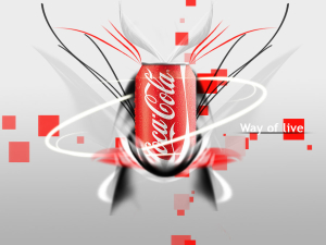 Breaking Coca Cola Wallpaper