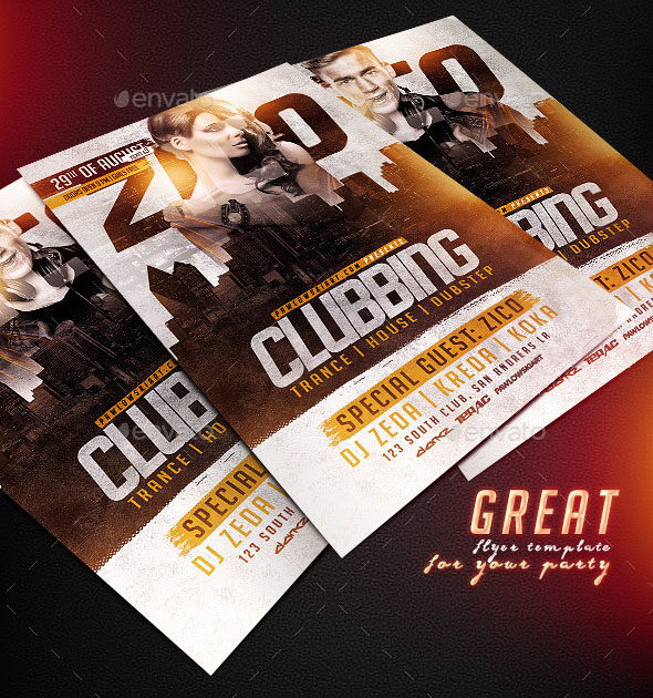 Clubbing Flyer Template