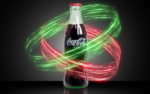 Coca Cola Lightning Effects