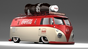 Coca Cola Truck Wallpaper