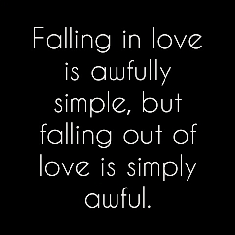 Falling Out of Love Depressing Love Quotes For Her