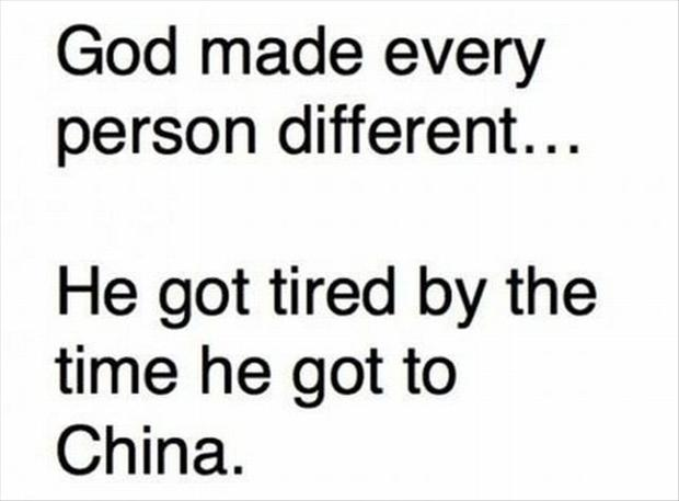 Funny Quote God Tired
