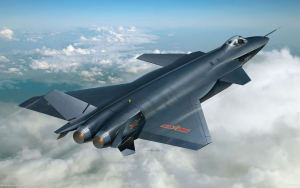 J-20 Chinese Fighter Aircraft Wallpaper