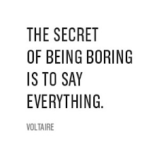 Life is Boring Quote