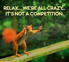 Relax & Crazy Funny Quote