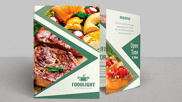 Restaurant Business Bi-Fold Brochure Bundle