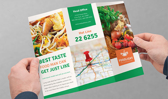 Restaurant Tri-Fold Brochure Bundle