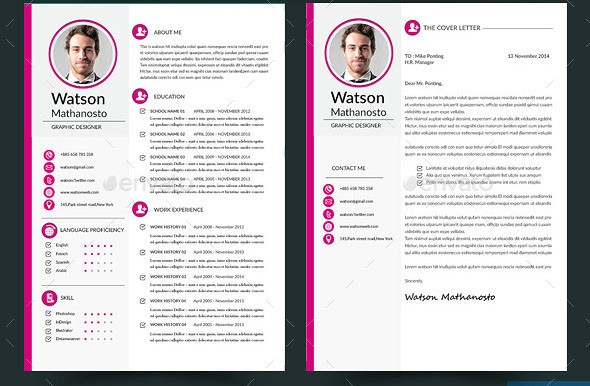 20 Cool InDesign Resume Templates – BlogofTheWorld