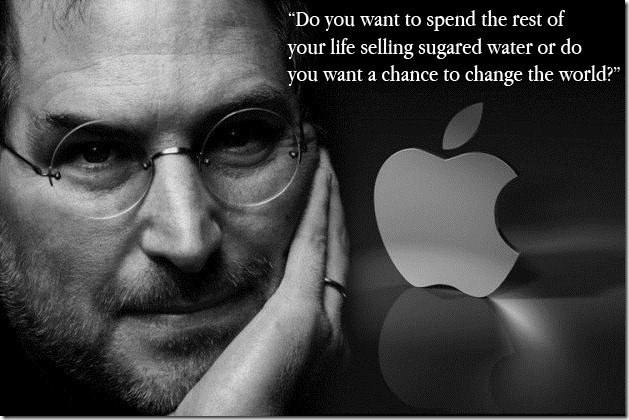 Steve Job Change The World Quote