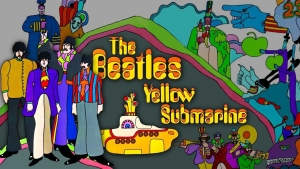 The Beatles Yellow Submarine Wallpaper