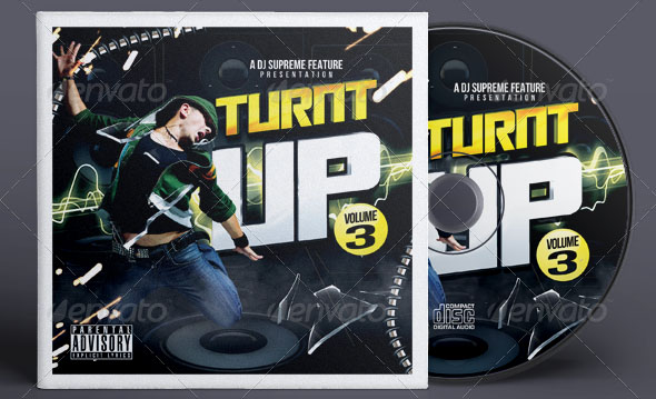 Turnt up Music CD Cover