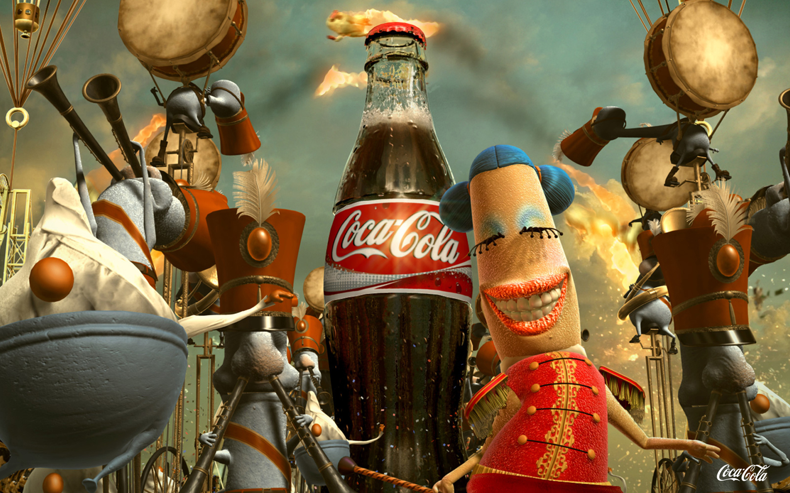 20 cool coca cola wallpapers blogoftheworld - Vintage coke wallpaper ...