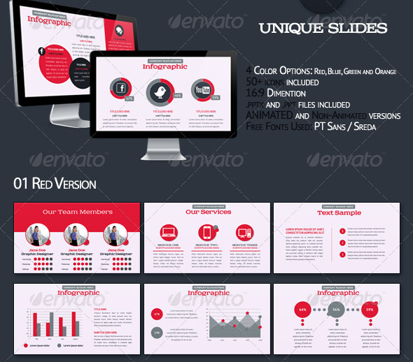 Bundle Animated Powerpoint Templates
