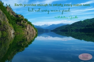 Earth Give Everything Quote
