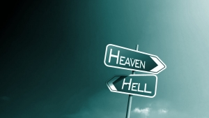 Heaven & Hell Direction Wallpaper