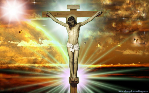 Jesus on Cross Wallpaper