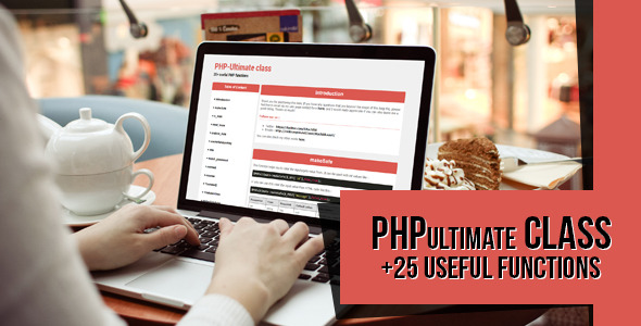 PHPultimate class 40 useful functions