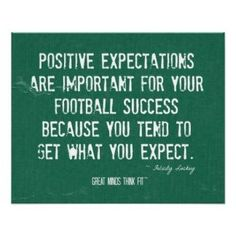 Positive Expectation