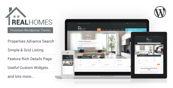 Real Homes WordPress Real Estate Theme