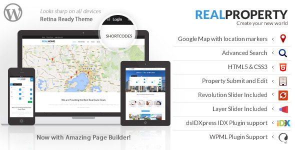Real Property Responsive Real Estate WP Theme
