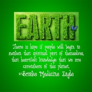 Saving Earth Quote