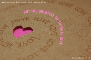 The Greatest Is Love Wallpaper