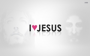 We love Jesus Wallpaper