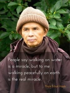 walking on Earth Quote