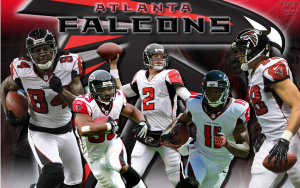 Atlanta Falcons Team Wallpaper 16x10.Featuring Micheal Turner, Julio Jones, Matt Ryan, Roddy White and Tony Gonzalez.Download this wallpaper for all screen sizes here - http://wickedwallz.blogspot.com/p/nfl-football-wallpapers.html