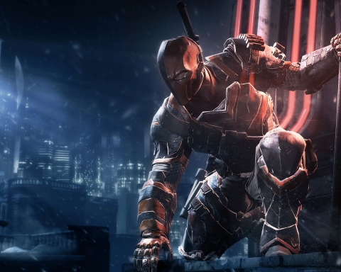 Batman Arkham Death Stroke Wallpaper