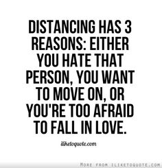 Distance Love Quote