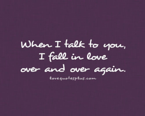Fall In Love Over Again